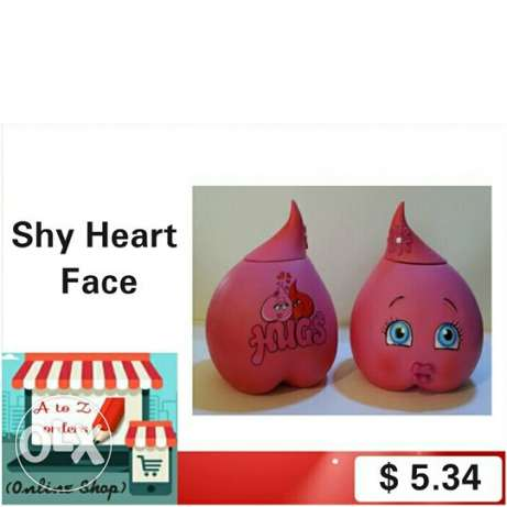 Shy Heart Face