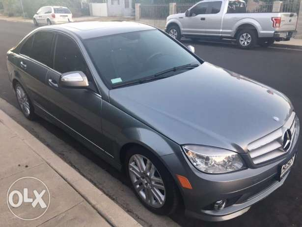 2008 mercedes C 300 gray clean carfax low mile 10 days for delivery كسروان -  2