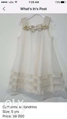Catherine Malandrino dress, size: 5 yrs