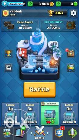 clash royale accont