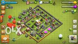 2 base clash of clans town hall 4 max w 5 max