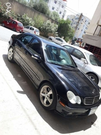 Mercedes C230 Black color