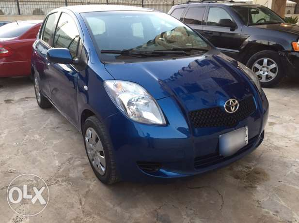 Toyota Yaris 2007 Blue Hatchback