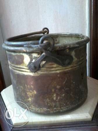 Antique copper Pot, 150-250years, heavy, 60$