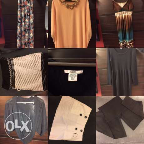 Around 45 pieces for female all for 80$