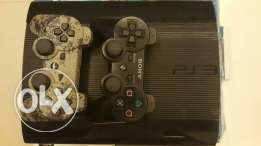 Ps3 12 gb with 2 controller