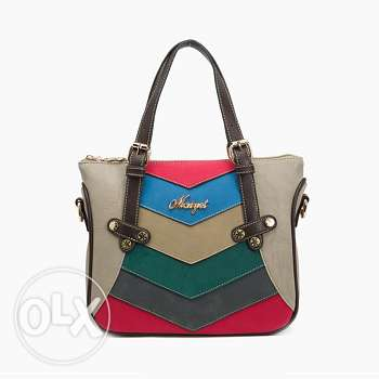 High quality shoulder nubuck handbag 1 فرن الشباك -  1