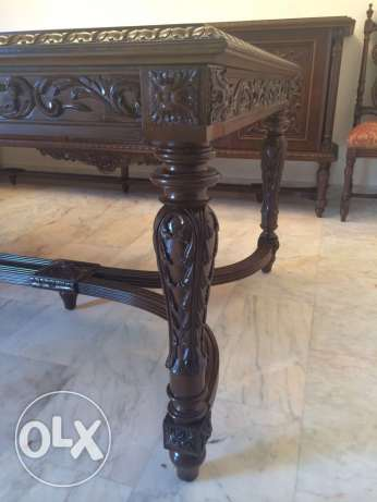 Dining room (حفر يدوي على الخشب) in excellent condition راس  بيروت -  3