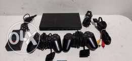 ps2 with multiple control and games +20