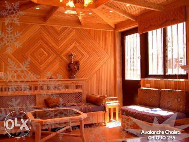 Avalanche Chalets - Chalet for Rent at Cedars-Al arz بشري -  5