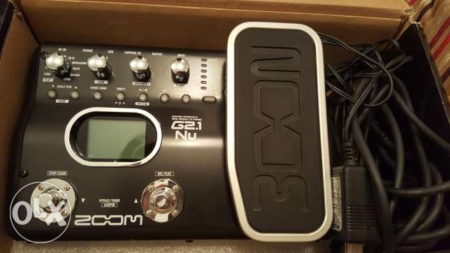Zoom G2.1 multi effect pedal