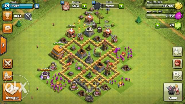 clash of clans الشياح -  2