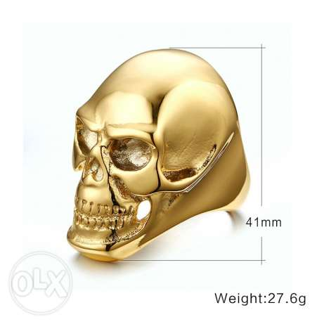 Skeleton high quality rings for men