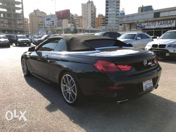 Bmw 650 convertible Black on Red!!!