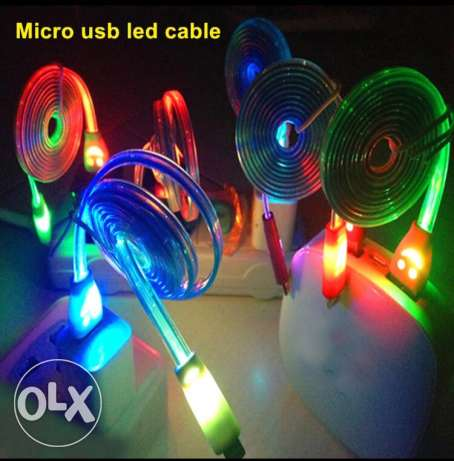 1M led charger cable سن الفيل -  1
