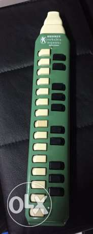 Hohner Melodica Soprano green vintage Harmonica 25 Keys made in Germa