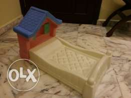 Doll bed by Little Tykes