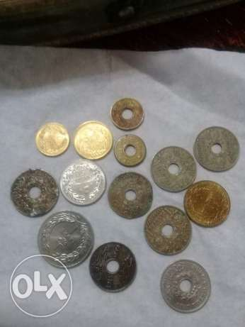 Old lebanese coins