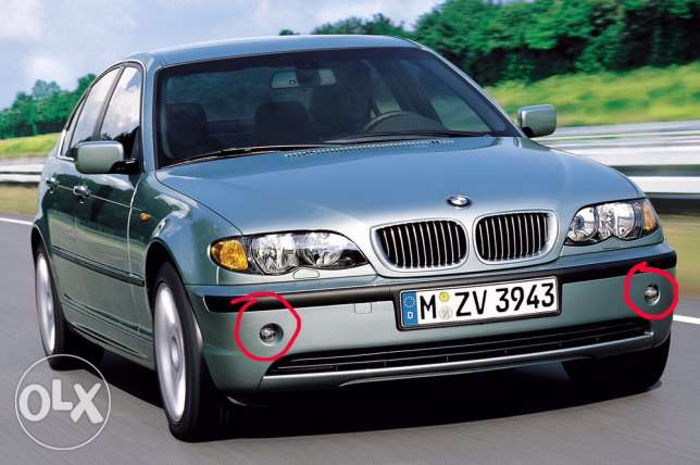 Bmw E46 front fog light (projector) original made in germany