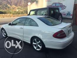 Mercedes clk 320 white coupe mod 2004