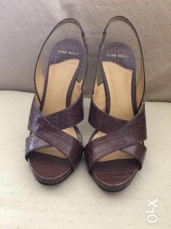 Women shoes - Nine West brand - brown - size : 37