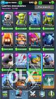 clash royel level 9 + clash of clans th 9