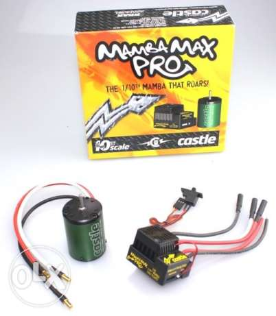 Castle Creations Mamba Max Pro 9000Kv Motor/ESC Combo for RC Cars