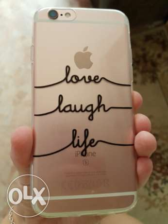 Covers For Iphone 6 and 6 plus Love Amor Design Transparent