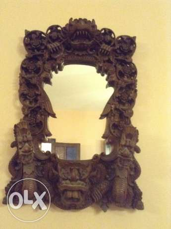For sale handmade dragon mirror