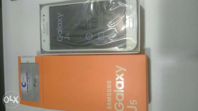 New for sale Galaxy j5 2camera warranty ctc original