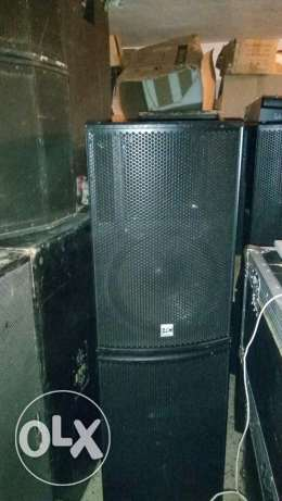 Speaker HRC 500w x 8 like new الشوف -  1