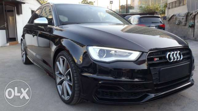 AUDI S3 2016 , fully loaded,8000km,excellent condition