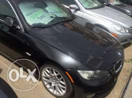 BMW 328 convertible 2007 black