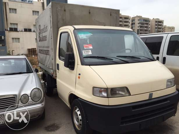 FIAt DUKATO PIK UP mod 1996 verry clean from germany البحصاص -  5
