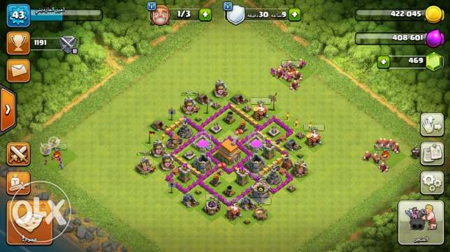 clash of clans town hall 6