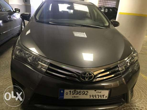 Toyota corolla 2014 , Serious people calls only plss
