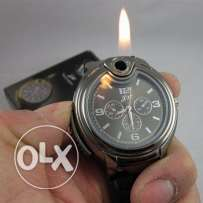 Wristwatch lighter (2 pics)