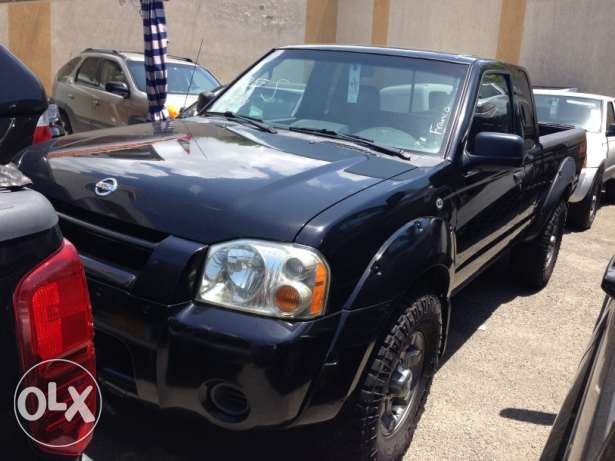 2004 nissan frontier 4x4 automatic black v6