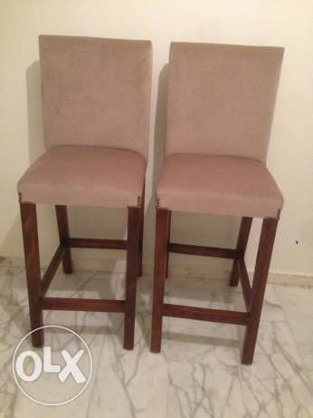 2 bar chairs for kitchen