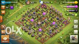 Clash of clan max kelshi
