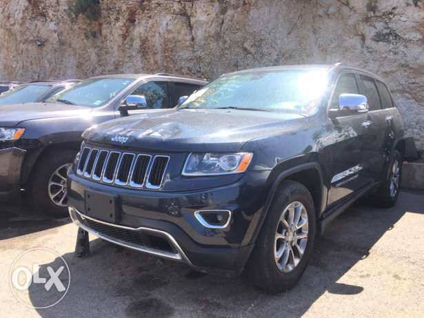 Grand Cherokee 2014 Grey Limited 36,000 Mile