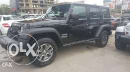 Jeep Wrangler Unlimited 2013 Black Fully Loaded in Excellent Condition