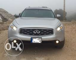 infinity fx 35 silver on black
