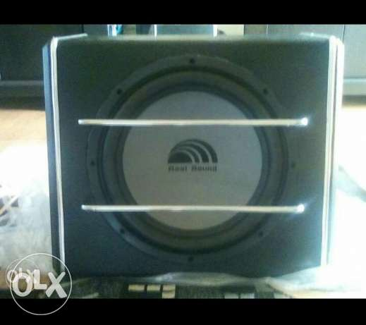 Realsound 600 watts subwoofer. Built in ampli كسروان -  1