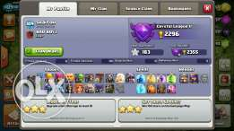 Clash of clans th9 maxed