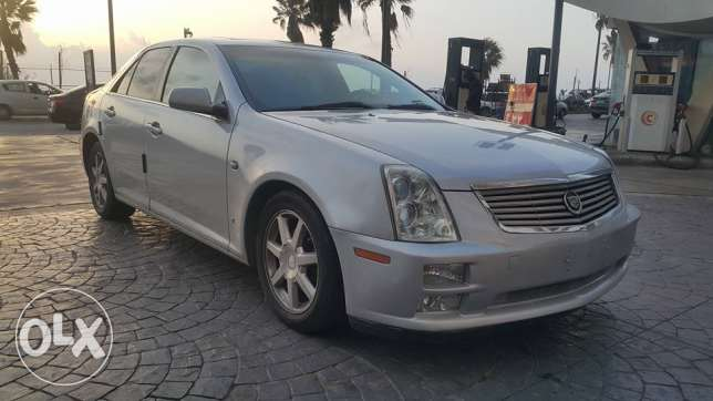 Cadillac STS Super Luxury 2006 Full option غير مستهلكه كثيرا no accide