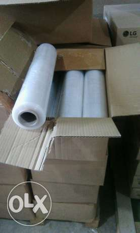 Stretch film 300 - (Box) - 6Rolls/box - 2.5Kg each - length 300m