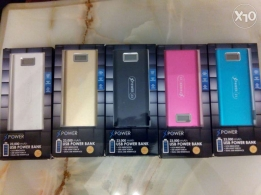 Free shipping 23000mah power bank with 2usb+torsh Xpower23 brand new