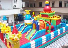 Disney Combo Inflatable Gonflable Game ألعاب نفخ