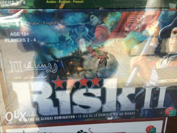 Brand New RISK 2 The World Conquest Game